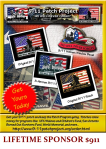 Benefits of becoming 9/11 Patch Project LifeTime Sponsor